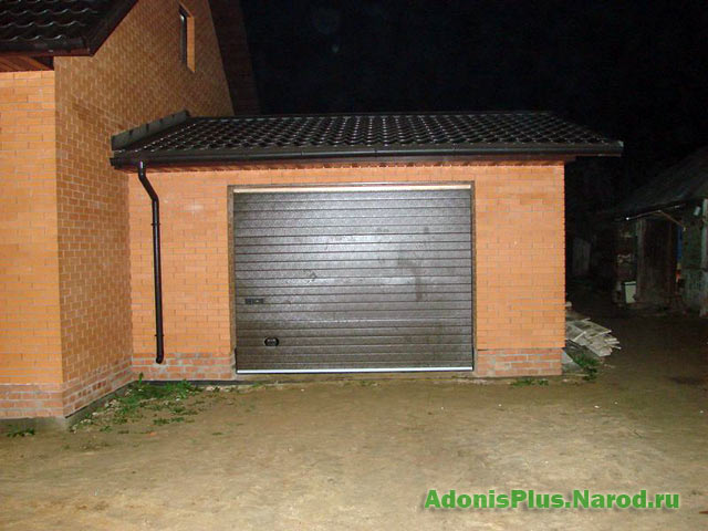 Жалюзи гаражные